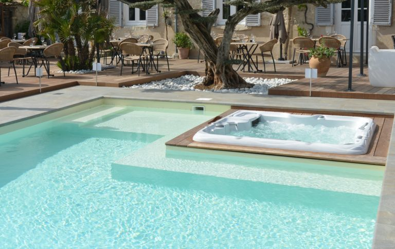 pool and Sundance Spas installation in New Jersey