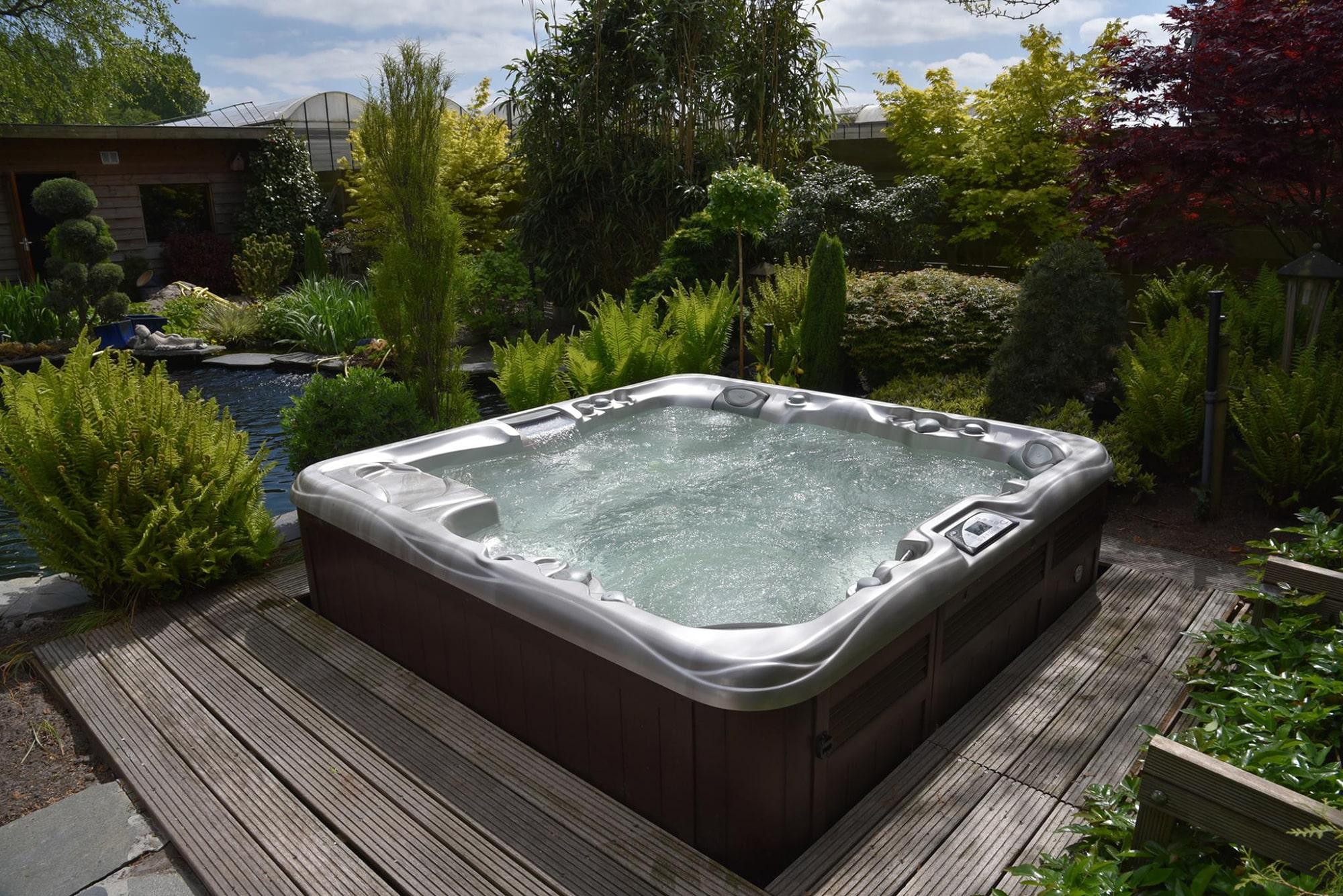 Sundance Spas hot tub install in New Jersey