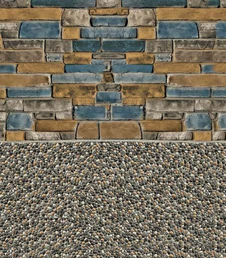 Tan Sierra Gold Pebble Liner National Pools New Jersey