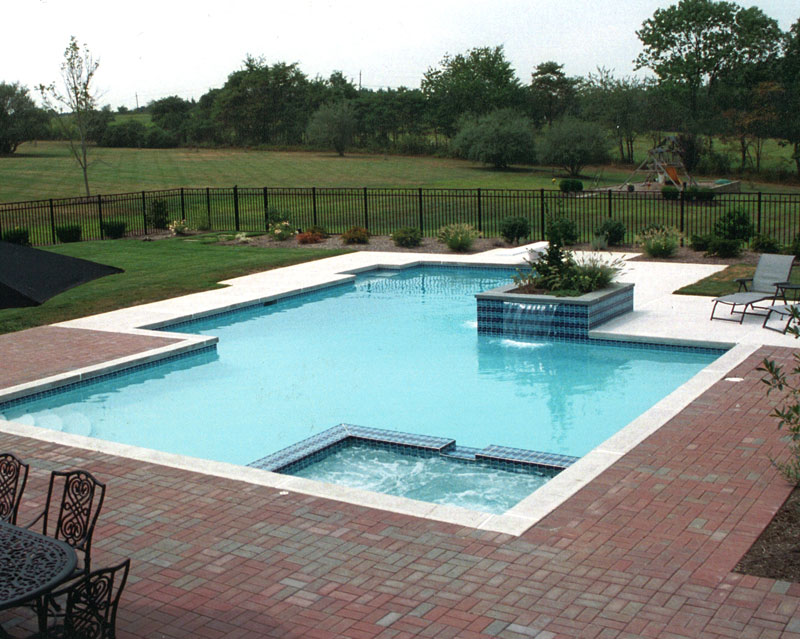 Concrete Pool National Pools & Spas New Jersey
