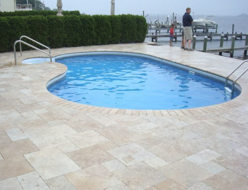 Concrete Pool deck National Pools & Spas New Jersey