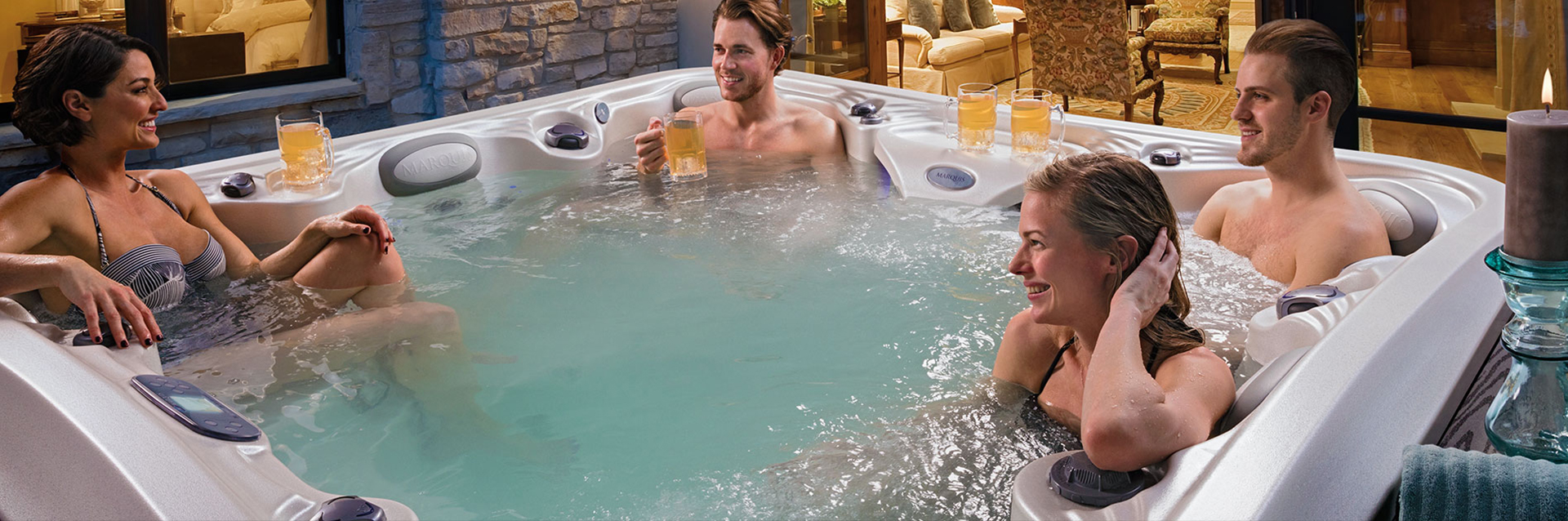 The euphoria hot tub in New Jersey
