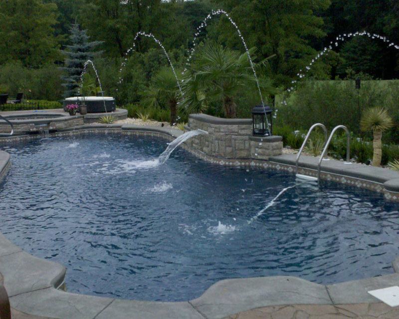 Fiberglass Pool National Pools & Spas New Jersey