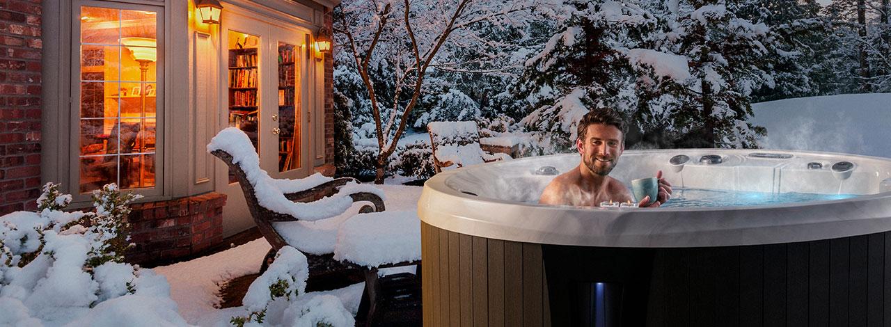 The Monaco Elite hot tub in New Jersey