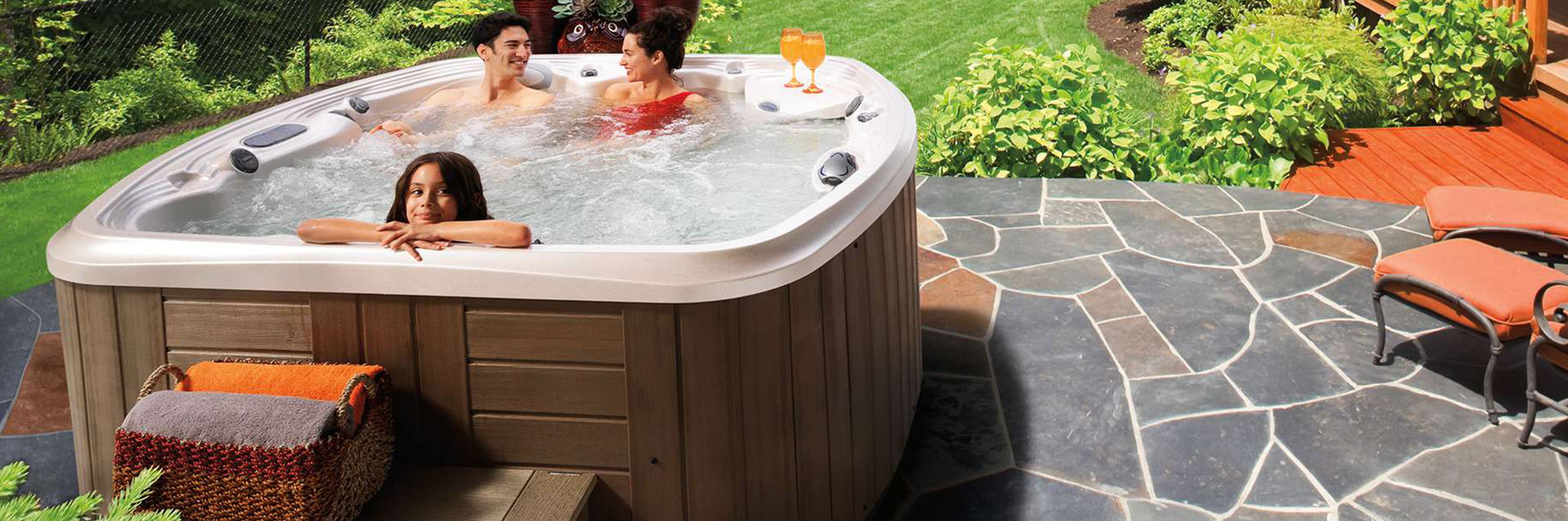 The resort hot tub in New Jersey