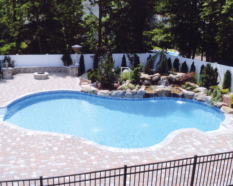 Vinyl Pool National Pools & Spas New Jersey