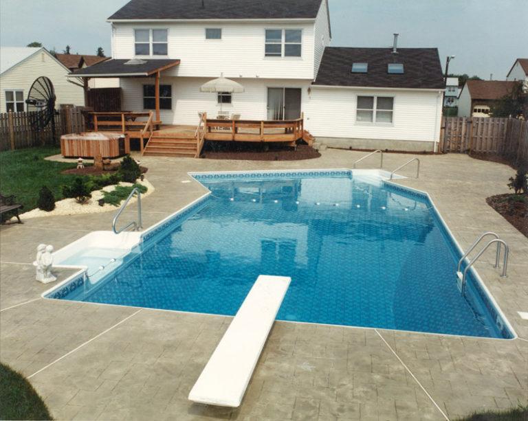 Vinyl Pool National Pools & Spas New Jersey