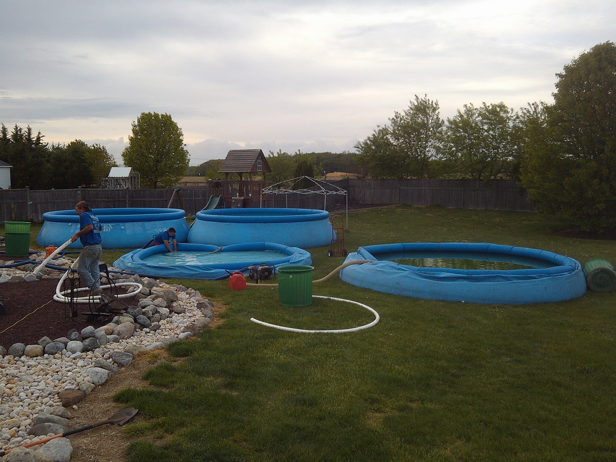 Pool renovations in New Jersey