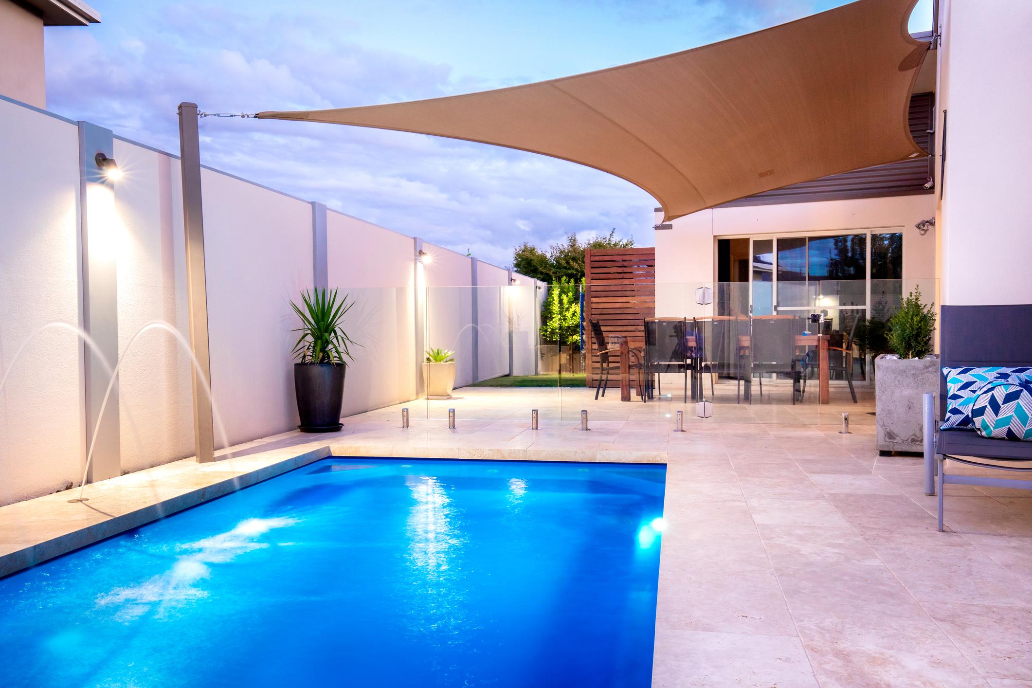 Modern swimming pool renovations