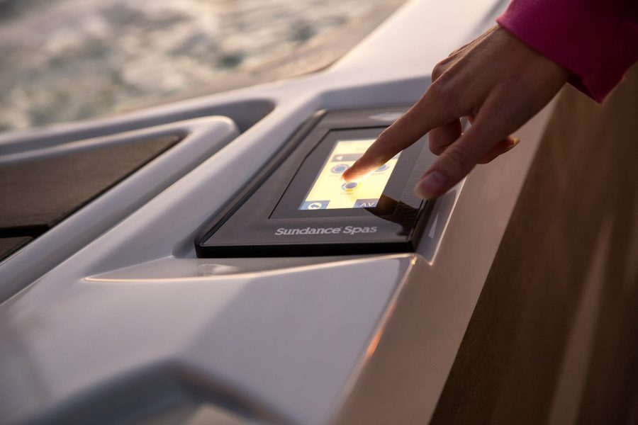 Hot Tub Touch Screen Controls in New Jersey