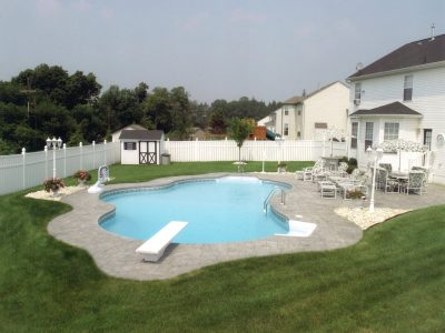 vinyl pool diving board in New Jersey